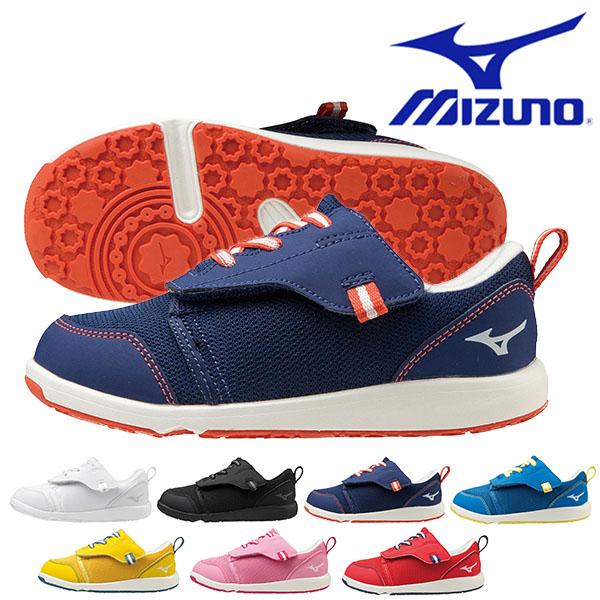 数量限定 ミズノ MIZUNO キッズ スニーカー シューズ こども靴 ジュニア 品質検査済 送料無料 プレモア 靴 男児 通学靴 C1GD2133 子供靴 得割15 ベルクロ 子供 女児