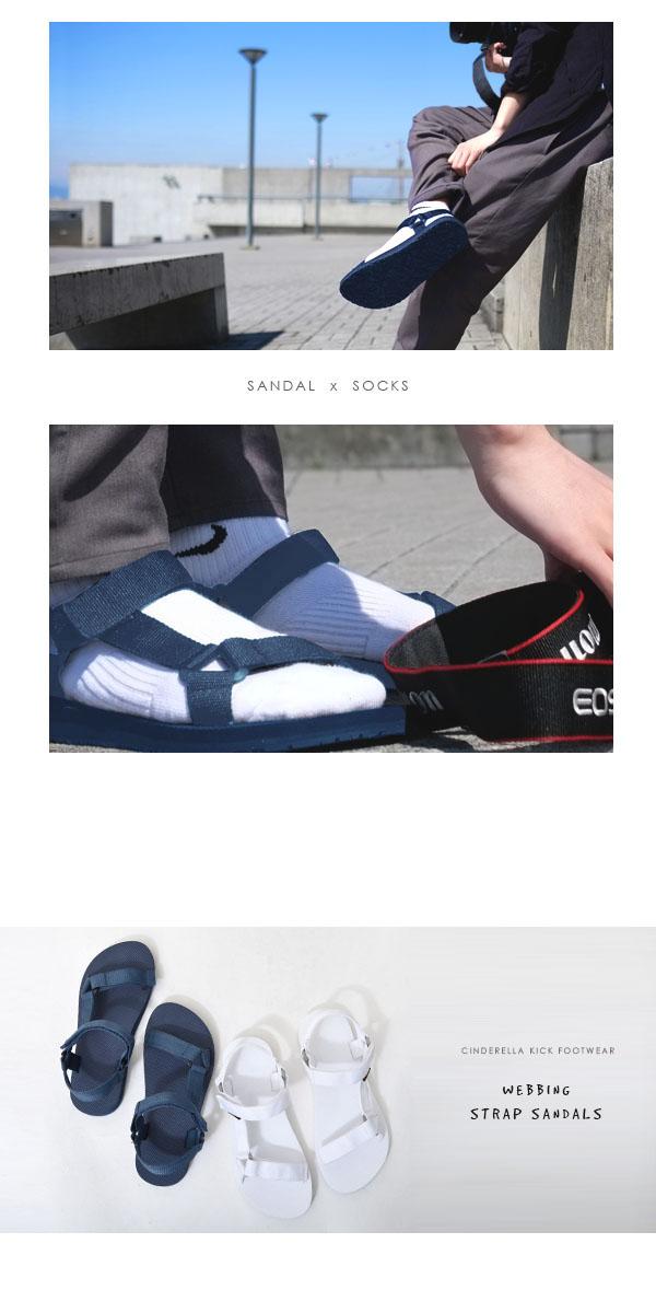サンダルメンズベルトストラップウェビングサンダルスポーツサンダルWEBBINGSANDALアウトドアカジュアル靴【あす楽対応】