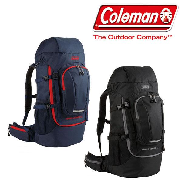送料無料 バックパック コールマン Coleman メンズ レディース パワーローダー 43L 大容量 リュックサック ザック リュック バッグ アウトドア 登山 トレッキング ハイキング 国内正規代理店品
