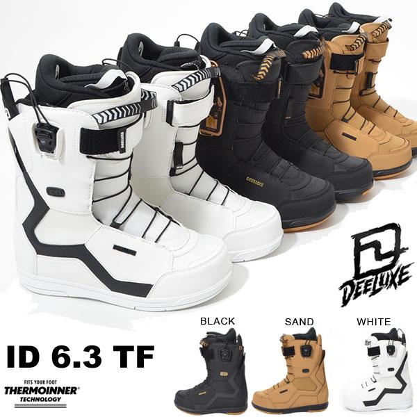 送料無料 ディーラックス DEELUXE スノーボード ブーツ ID 6.3 TF メンズ アイディー スノボ TF サーモインナー SNOWBOARD 成型 熟成 得割30