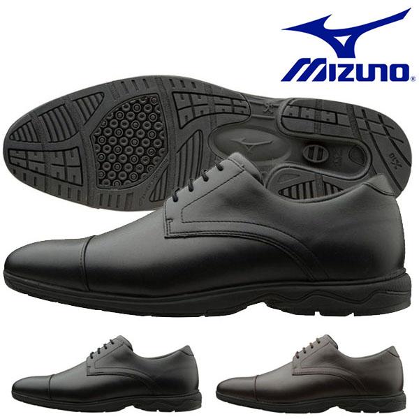 送料無料 ビジネスウォーキングシューズ ミズノ MIZUNO メンズ LD40 ST2 幅広 3E ビジネスシューズ スニーカー 靴 通勤 カジュアル ウォーキング シューズ