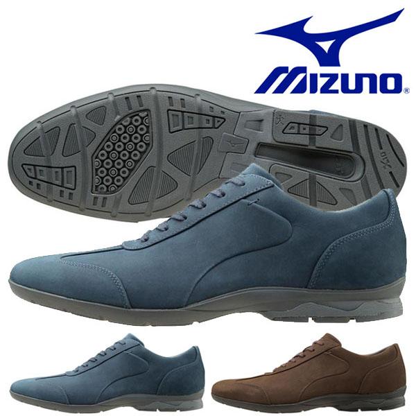 送料無料 ビジネスウォーキングシューズ ミズノ MIZUNO メンズ LD40 CROSS 幅広 3E ビジネスシューズ スニーカー 靴 通勤 カジュアル ウォーキング シューズ