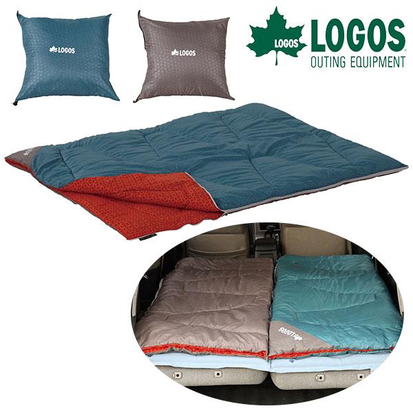 送料無料 ロゴス LOGOS ミニバンぴったり寝袋・-2 冬用 寝袋 封筒型 シュラフ 寝具 特大 アウトドア キャンプ 野外フェス レジャー 旅行 車中泊