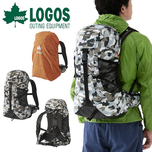 送料無料 ロゴス LOGOS バックパック メンズ レディース CADVEL-Design30 カモフラ 30L ザックカバー付き リュックサック デイパック アウトドア レジャー トレッキング 登山 バッグ カバン かばん 鞄