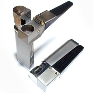 スクリーン 網 5枚付 フタ付でライターとパイプが合体した機能的なパイプ 高品質 海外 ライター一体型パイプ など用 葉タバコ シャグ 喫煙具
