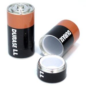 色々な物を隠しておける ? 面白雑貨 大 公式通販 電池型シークレットケース 国内在庫