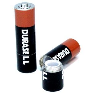 未使用品 色々な物を隠しておける ? 面白雑貨 本日限定 小 電池型シークレットケース