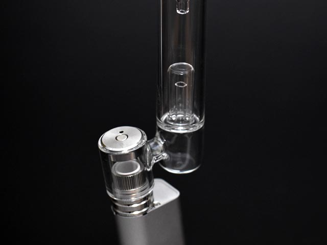 (シャグ) 葉タバコ 付ヴェポライザー ・ドライハーブ用 (ボング) ガラス製水パイプ