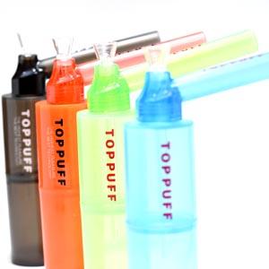 スタイリッシュで機能的な掃除がしやすいボング 水パイプ 新作多数 喫煙具 ボング お買い得 TOPPUFF ペットボトル装着可能水パイプ