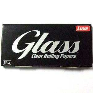 天然植物繊維で作られた透明シガレットペーパー 喫煙巻き紙 手巻きタバコ用など 透明ペーパー GLASS 4 高級 1 25%OFF CLEAR