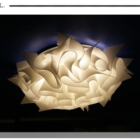 シーリングライト JKC156whiteLED (天井照明 間接照明 お洒落 デザイン インテリア 北欧 リビング 寝室 8畳 6畳 LED)