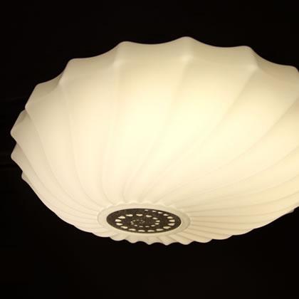 LEDシーリングライト KPC006 (インテリア照明 間接照明 ペンダントライト 天井照明 北欧 お洒落 リビング 寝室 8畳 6畳)