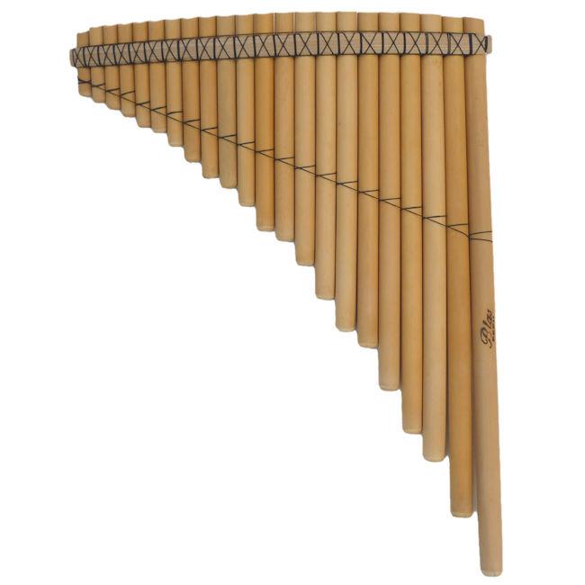 Fa 左低音 PAN-22 パンフルート サンポーニャ フォルクローレ楽器 ペルー製 民族楽器 アンデス楽器 約43cm 22管