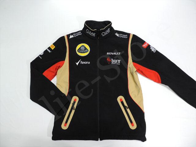 莲花 F1 2013 用品晚版软壳夹克 M 5/5 (出售给 F1 从海外进口的废旧物品)