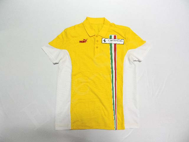 【送料無料】 フェラーリ コロソ・ピロタ 2007年 支給品 ポロシャツ メンズ S 5/5 (海外直輸入 F1 非売品USEDグッズ ゴルフウェア)