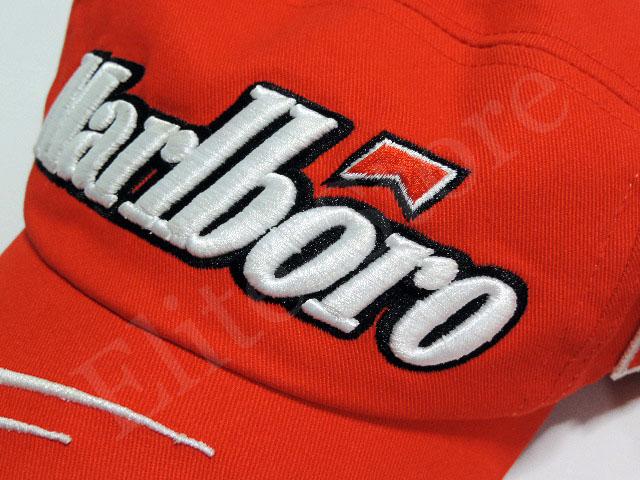 基米 · 莱科宁 2007年法拉利 F1 用品万宝路版本标识帽 (为销售玩具 F1 从海外进口)