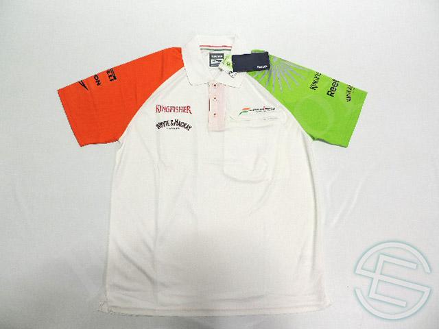 【送料無料】 フォース・インディア 2011年 支給品 リーボック製 ポロシャツ メンズ M new (海外直輸入 F1 非売品グッズ)
