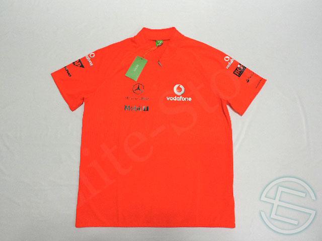 【送料無料】 マクラーレン 2009年 支給品 ヒューゴボス製 ヴィクトリー ZIPシャツ メンズ new 新品 (海外直輸入 F1 非売品グッズ)