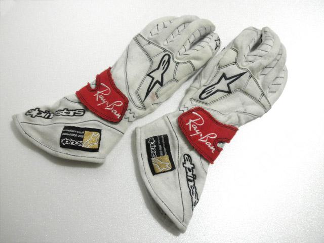 【送料無料】 クリスチャン・クリエン 2007年 ホンダ 支給品 アルパインスターズ製 実使用 Ray-Ban入り グローブ (海外直輸入 F1 非売品USEDグッズ メモラビリア)