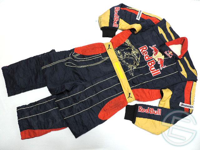 【送料無料】 トロ・ロッソ 2009年 支給品 タイヤ交換スタッフ用 耐火性 8856-2000 レーシングスーツ 4/5 (海外直輸入 F1 非売品USEDグッズ)