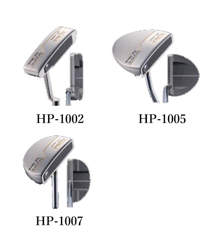 本間ゴルフ HPパター ホンマ HONMA ゴルフクラブ HP-1002 HP-1005 HP-1007 34インチ オリジナルスチール