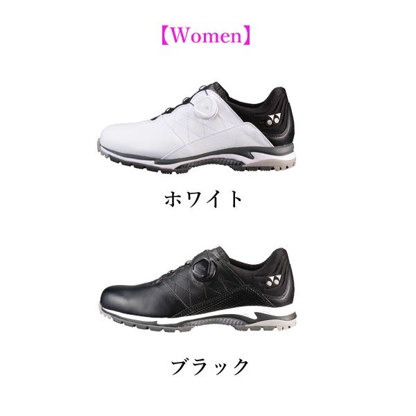 YONEX パワークッション エアラスゴルフ2 ウィメンズ ゴルフシューズ 女性用 SHG-AR2L ヨネックス 3.5E 日本正規品