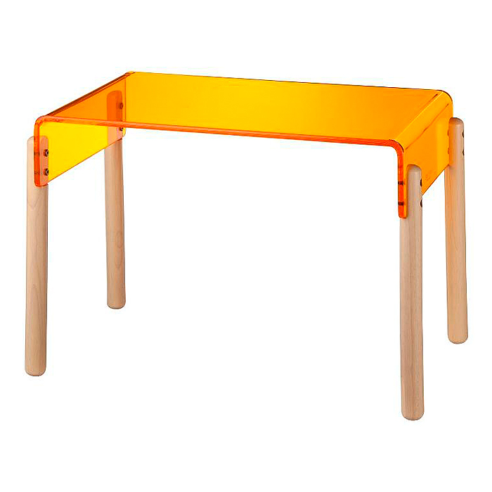 【KATOJI(カトージ)】SPECTRUM(スペクトラム)テーブル ORANGE