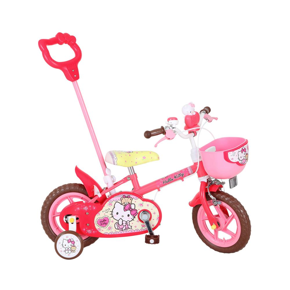 【送料無料・スタンド/ワイヤー錠をプレゼント】【M&M(エムアンドエム)】ハローキティ12D(カジキリ自転車)
