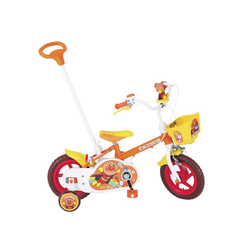 【送料無料・スタンド/ワイヤー錠をプレゼント】【M&M(エムアンドエム)】1400 それいけ!アンパンマン12D(12インチ)幼児用自転車