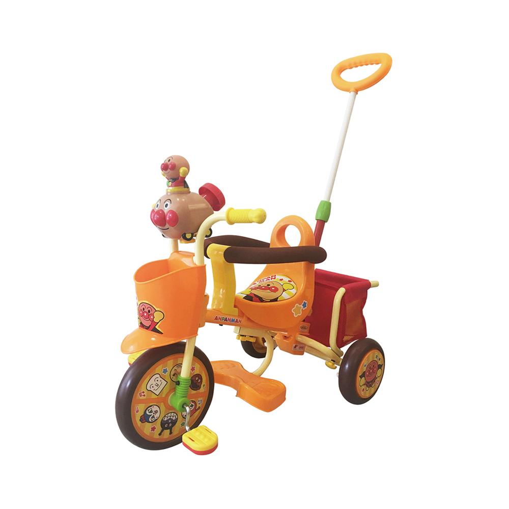 【M&M(エムアンドエム)】わくわくアンパンマンごうピースII オレンジ(おでかけ三輪車)