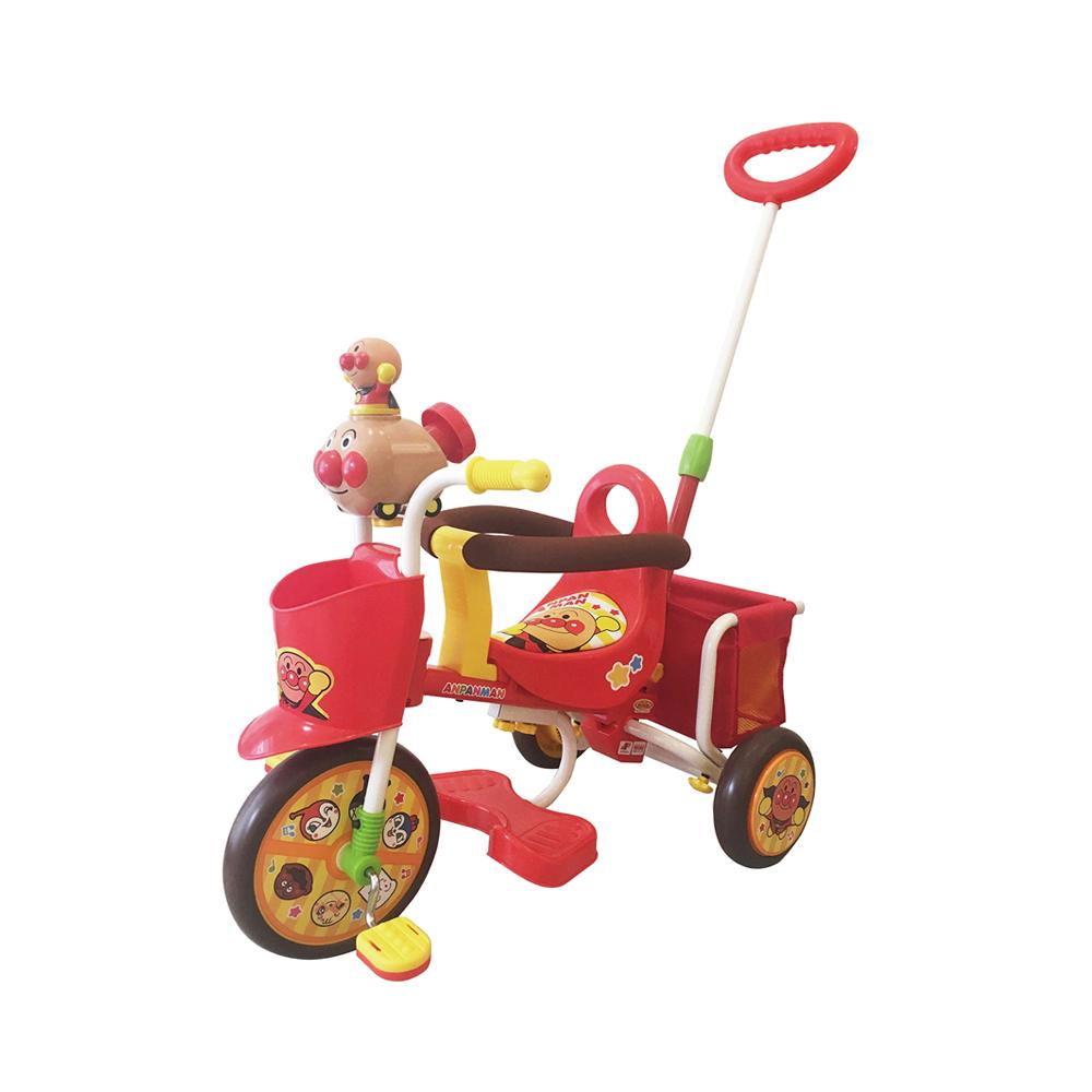 【M&M(エムアンドエム)】わくわくアンパンマンごうピースII レッド(おでかけ三輪車)