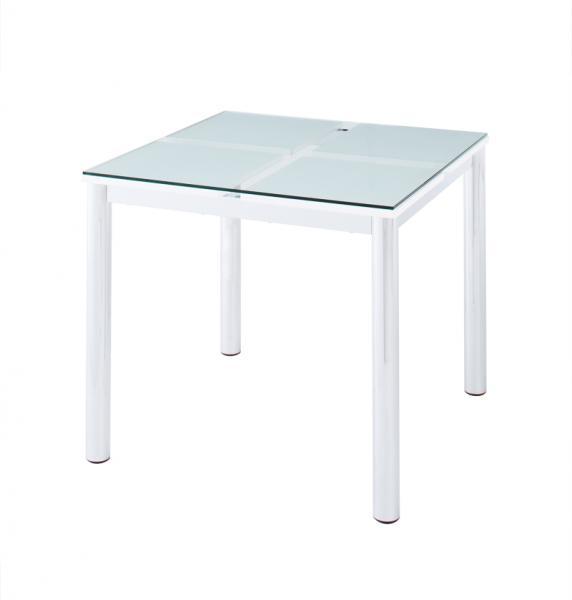 ガラスデザインダイニング≪De-modera≫テーブル80単品 手彫り家具 安い インテリア家具 手彫り家具 安い シノワズリーテイストアジアン家具