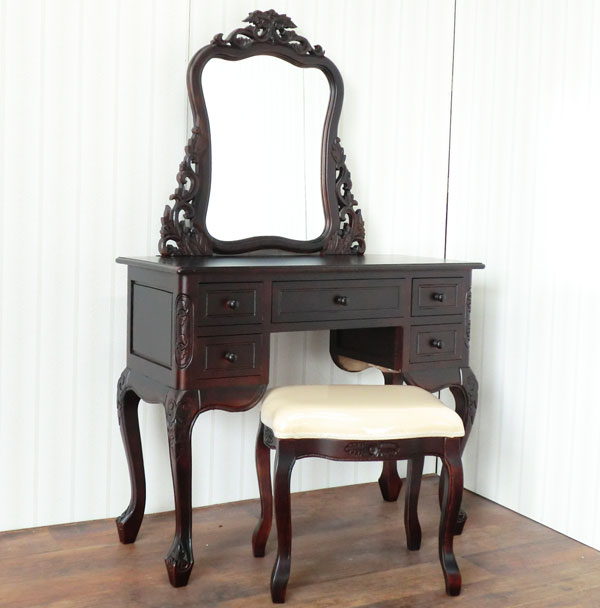 elmclub | Rakuten Global Market: Handicraft furniture dressing table set  shelf desk table antique furniture handicraft innocence furniture  accessories ... - Elmclub Rakuten Global Market: Handicraft Furniture Dressing Table