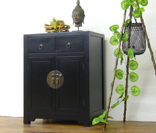 "elmclub | Rakuten Global Market: ""Min slim cabinet (black) antique  furniture, Asian furniture cabinets, living room storage chests and storage  ... - Elmclub Rakuten Global Market: ""Min Slim Cabinet (black"