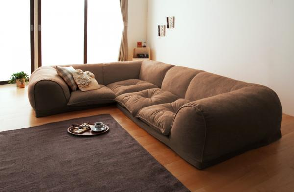 The floor corner sofa << ARUM >> アルムアジアン furniture hand-carving furniture  sculpture furniture modern Chinese that it is the Chinoiserie that cheap ...