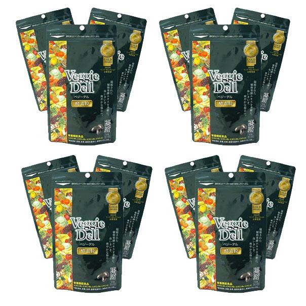 ベジーデル酵素粒 12袋セット Veggie Dell(1袋約1ヶ月分93粒)ファスティングダイエット インナービューティ お得 酵素 健康 美容