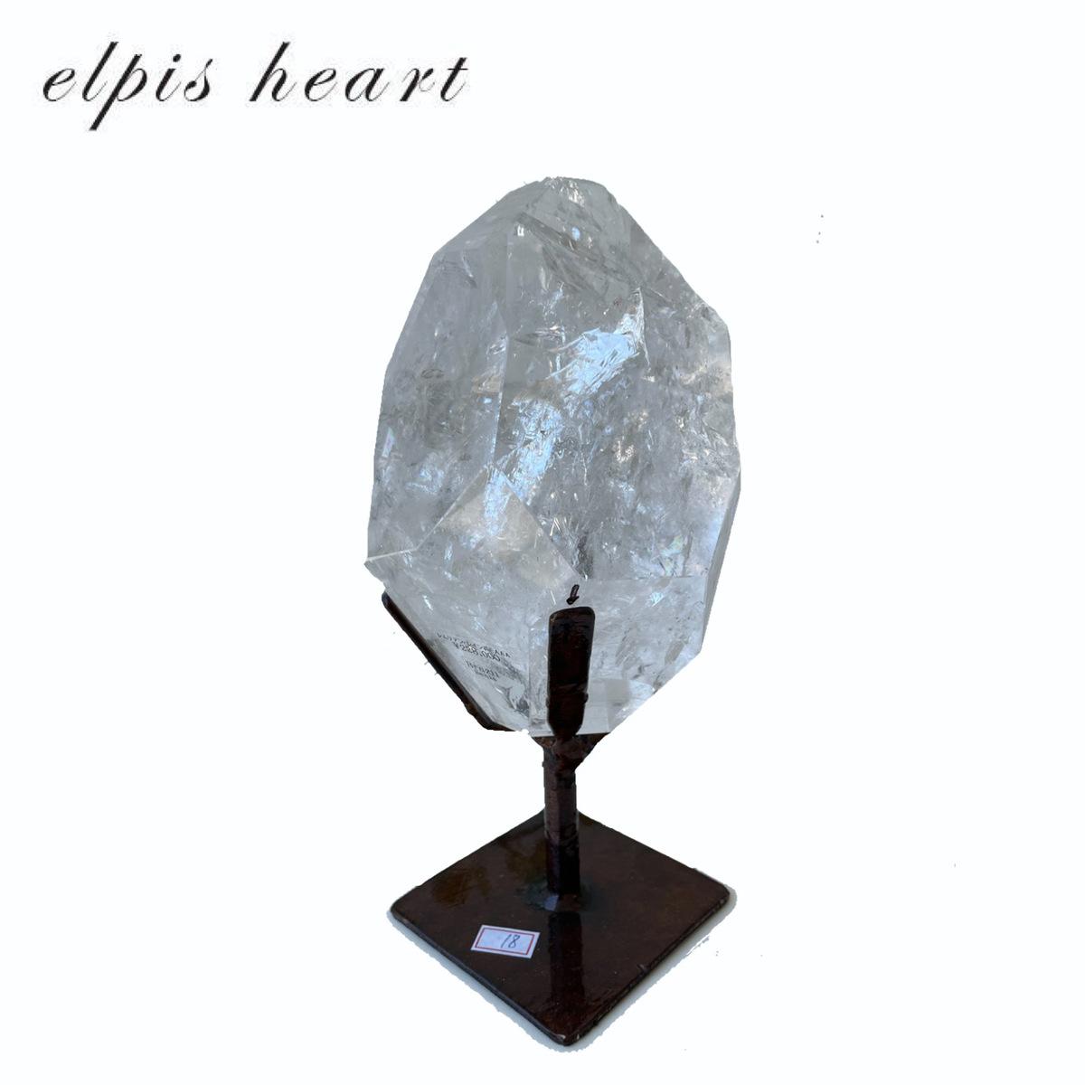 人気ショップが最安値挑戦 持ち主があらわれると目覚め 日本製 大きなエネルギーが開放されるといわれているレムリアン水晶です レムリアン水晶☆レインボー入り☆ブラジル産 最高品質☆