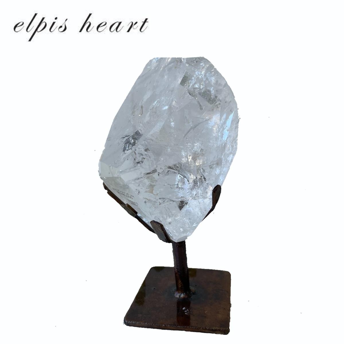 持ち主があらわれると目覚め 選択 大きなエネルギーが開放されるといわれているレムリアン水晶です 最高品質☆ レムリアン水晶☆レインボー入り☆ブラジル産 ストア