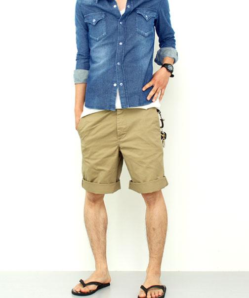 千野忠男裤短裤