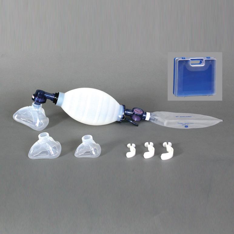 ブルークロスシリコンレサシテーター ACRW-33P【成人用蘇生器】 救急用医療器のブルークロス製 【日本製】
