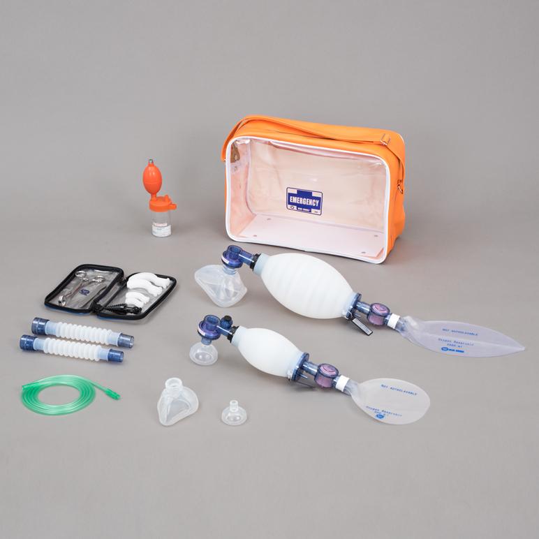 救急蘇生セット AIRW-2【成人・新生児用】救急用医療器のブルークロス製 【日本製】