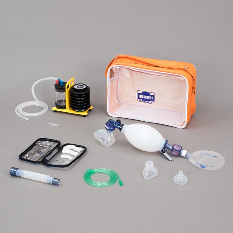 救急蘇生セット CRW-3【小児用】救急用医療器のブルークロス製 【日本製】