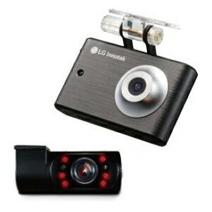 【ご購入特典ハンズフリー付】 LG innotek 前後2カメラ 液晶付ドライブレコーダー Alive LGD-IR100(16GB)【赤外線灯付】【送料無料】