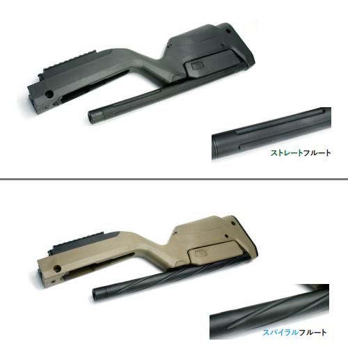 KJ10/22ホークアイGBB用MagpulX-22バックパッカーストック(コンバージョンキット)