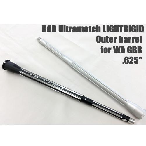 【IRONAIRSOFT】【WA互換パーツ】BADウルトラマッチ625アウターバレル 14.5インチ