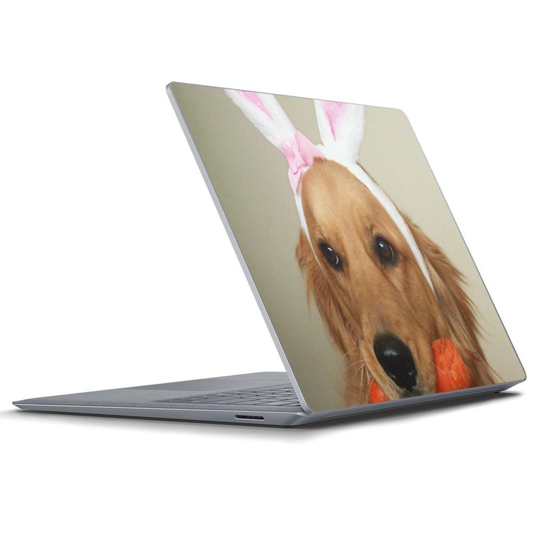 Skin seal Microsoft surface surface notebook note PC cover case film  sticker accessories protection 001111 dog Golden animal for exclusive use  of the
