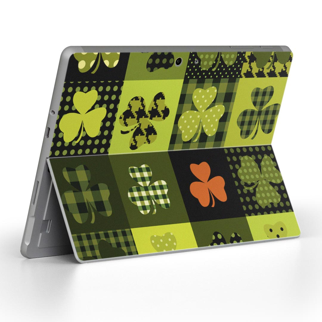 Skin seal Microsoft surface surface notebook note PC cover case film  sticker accessories protection 007841 plant clover green green design for