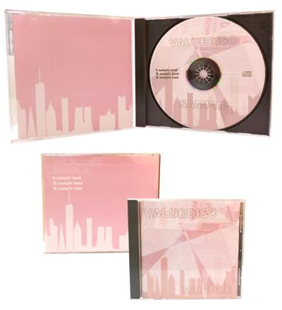 海外CDプレスパック1000/Pケース+4Pジャケット+シュリンク包装+送料込
