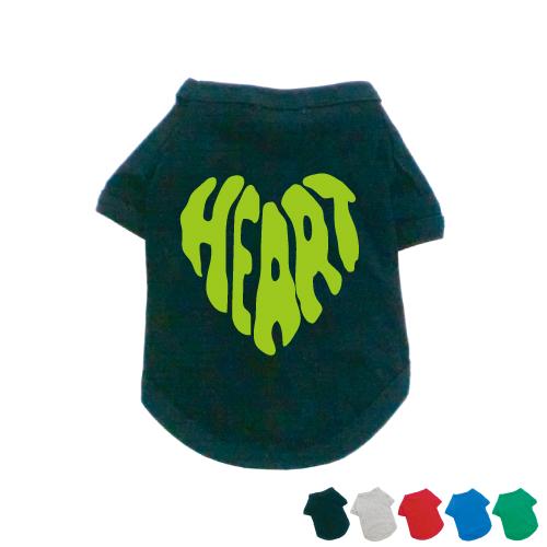 ドッグTシャツ/HEART03、dt_vtcp、犬服、ドッグウェア、小型犬、中型犬、大型犬、防寒、お散歩、ペットウェア