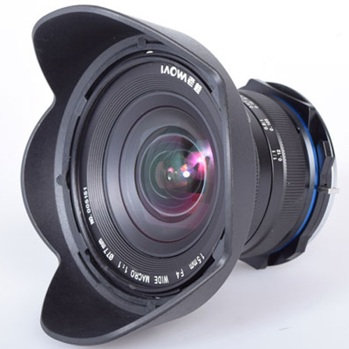 LAOWA 15mm F4 Wide Angle Macro with Shift ニコンFマウント [LAO006] 《納期未定》